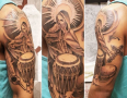 New Orleans Tattoo Artist Adam Montegut 4