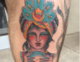 Raleigh Tattoo Artist Matt Mebane 1