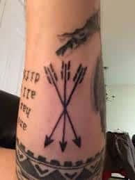 Three Arrows Tattoo Meaning 20
