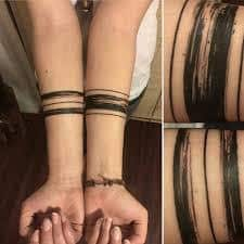 Three Lines Tattoo Meaning 6
