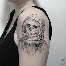 Astronaut Tattoo Meaning & Ideas | Astronaut Tattoo Designs