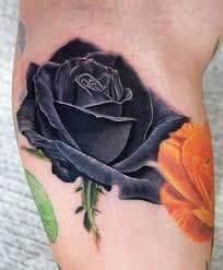 Black Rose Tattoo Meaning 10