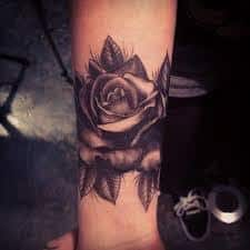Black Rose Tattoo Meaning 14