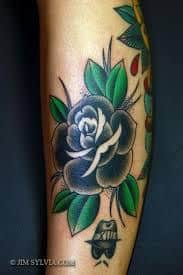 Black Rose Tattoo Meaning 18