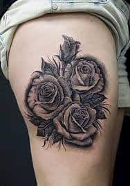 Black Rose Tattoo Meaning 26
