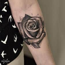 Black Rose Tattoo Meaning 30