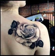 Black Rose Tattoo Meaning 34