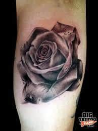 Black Rose Tattoo Meaning 35