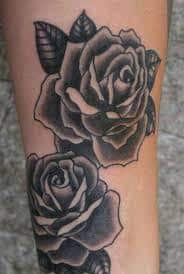 Black Rose Tattoo Meaning 36