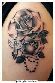 Black Rose Tattoo Meaning 39