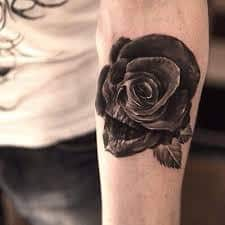 Black Rose Tattoo Meaning 44