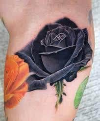 Tattoos with meaning symbolism for Red rose tattoo meaning
