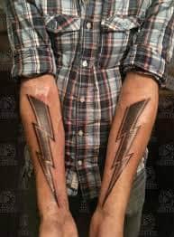 Lightning Bolt Tattoo Meaning 21