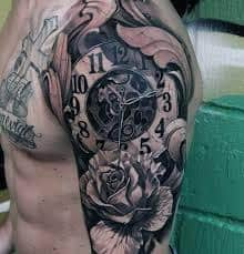 ae8e2d559 What Does Melting Clock Tattoo Mean? | 45+ Ideas and Designs