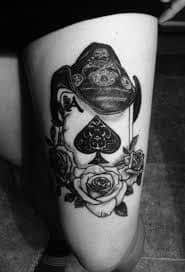 Spade Tattoo Meaning 17