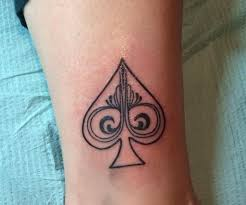Spade Tattoo Meaning 31