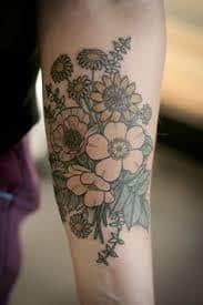 Wildflower Tattoo Meaning 14