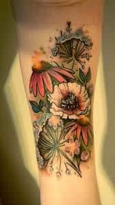 Wildflower Tattoo Meaning 25