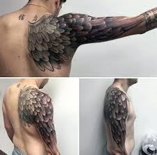 Wing Tattoo Meaning 8