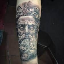Zeus tattoo meaning zeus greek god tattoos designs for Zeus tattoo designs