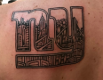 NYC Tattoo Artist Adam Suerte 1