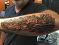 NYC Tattoo Artist Adam Suerte 2