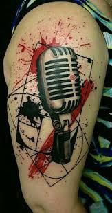 Trash Polka Tattoos Ideas Trash Polka Style Tattoo Artists