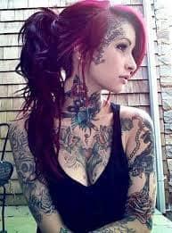 Face Tattoos 29