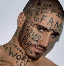 Face Tattoos 32