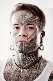 Face Tattoos 39