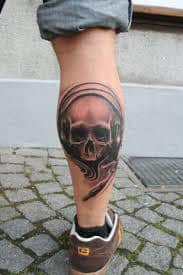 Leg Tattoos 13