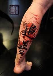 Leg Tattoos 14