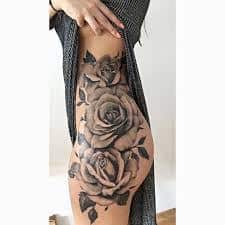 Leg Tattoos 16