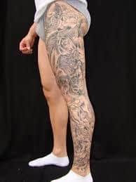 Leg Tattoos 18