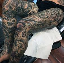 Leg Tattoos 22