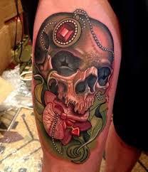 Leg Tattoos 34