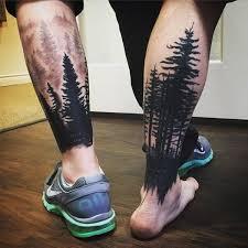 Leg Tattoos 48