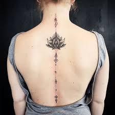 Spine Tattoos 1