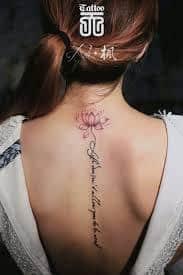 Spine Tattoos 22