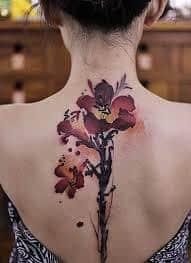Spine Tattoos 30