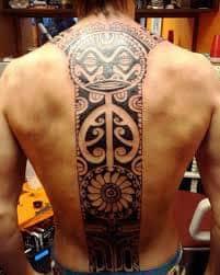 Spine Tattoos 36
