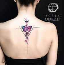 Spine Tattoos 39