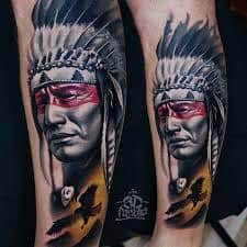 What Does Native American Tattoo Mean? | 45+ Ideas and Designs