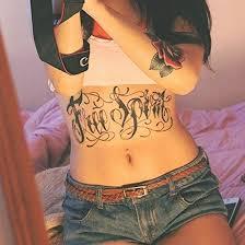 Stomach Tattoos 2