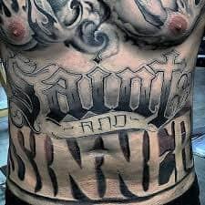 Stomach Tattoos 21