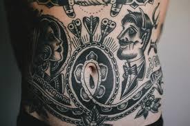 Stomach Tattoos 46
