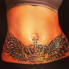 Stomach Tattoos 9