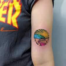 Bicep Tattoos 21