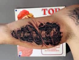 Bicep Tattoos 23
