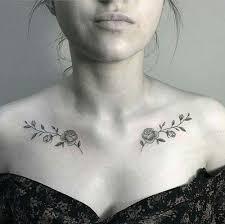 Collar Bone Tattoo 41